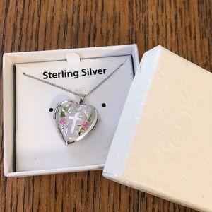 Sterling Silver Locket New in Box